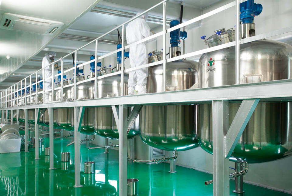 Dekang e-liquid manufacturing